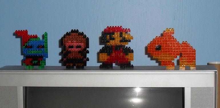 pixel blocks 4 small