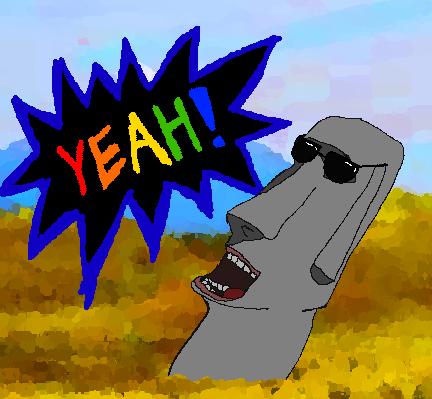 Moai Statue YEAH