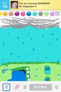 2012 04Apr 12 A Draw something!  - Raindrop