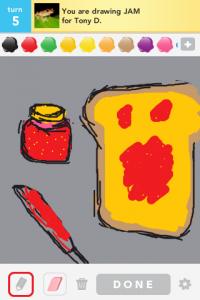 2012 04Apr 12 D Draw something!  - Jam