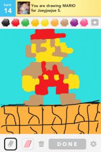 2012 04Apr 13 D Draw something!  - Mario