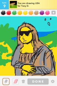 2012 04Apr 14 A Draw something!  - Lisa