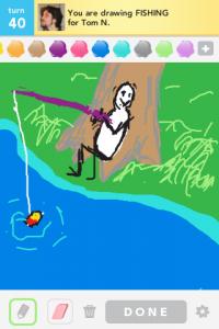 2012 04Apr 14 B Draw something!  - Fishing