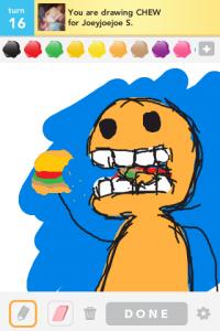 2012 04Apr 17 B Draw something!  - Chew
