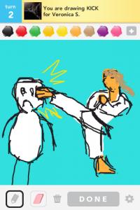 2012 04Apr 17 C Draw something!  - Kick