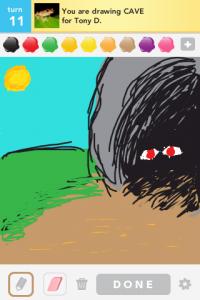 2012 04Apr 17 F Draw something!  - Cave