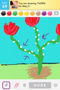2012 04Apr 17 G Draw something!  - Thorn