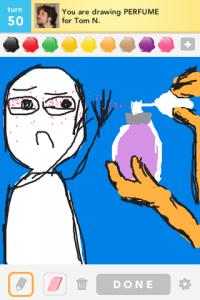 2012 04Apr 19 A Draw something!  - Perfume