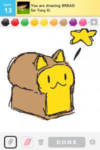 2012 04Apr 19 B Draw something!  - Bread
