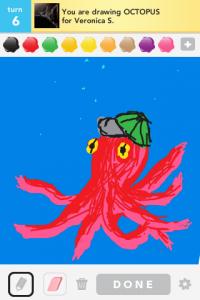 2012 04Apr 19 C Draw something!  - Octopus