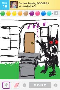 2012 04Apr 20 A Draw something!  - Doorbell