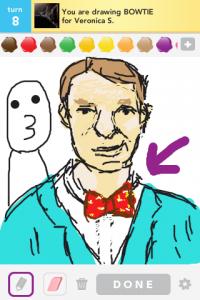 2012 04Apr 20 D Draw something!  - Bowtie