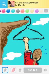2012 04Apr 22 A Draw something!  - Hanger
