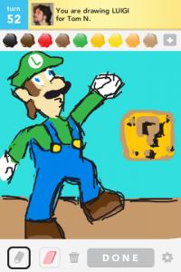 2012 04Apr 22 B Draw something!  - Luigi