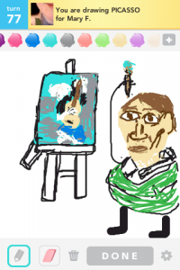 2012 04Apr 26 A Draw something!  - Picasso