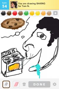 2012 04Apr 26 B Draw something!  - Baking