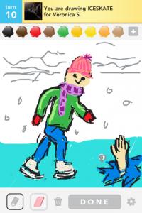 2012 04Apr 26 D Draw something!  - Skate