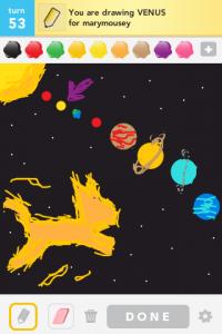 2012 04Apr 7 A Draw something! - Venus