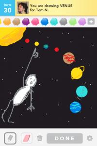 2012 04Apr 8 N Draw something! - Venus