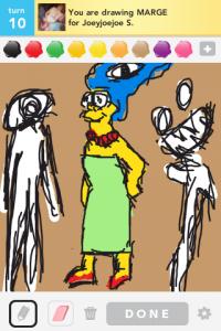 2012 04Apr 9 A Draw something! - Marge