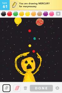 2012 04Apr 9 C Draw something!  - Mercury
