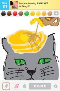 2012 05May 1 A Draw something! - Pancake