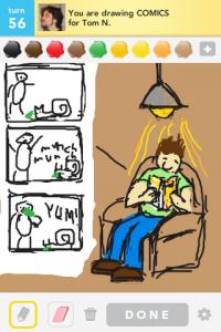2012 05May 1 B Draw something! - Comics